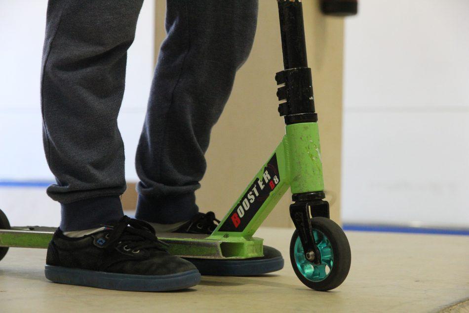 Nueva modalidad de la REFP, el scooter