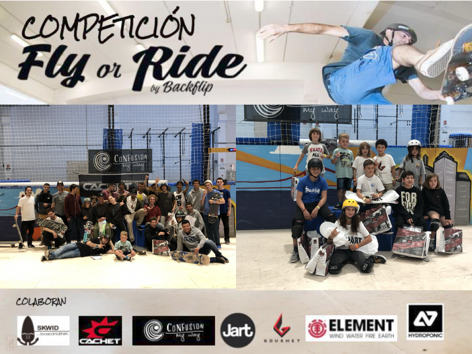 CAMPEONATO SKATE «FLY OR RIDE»