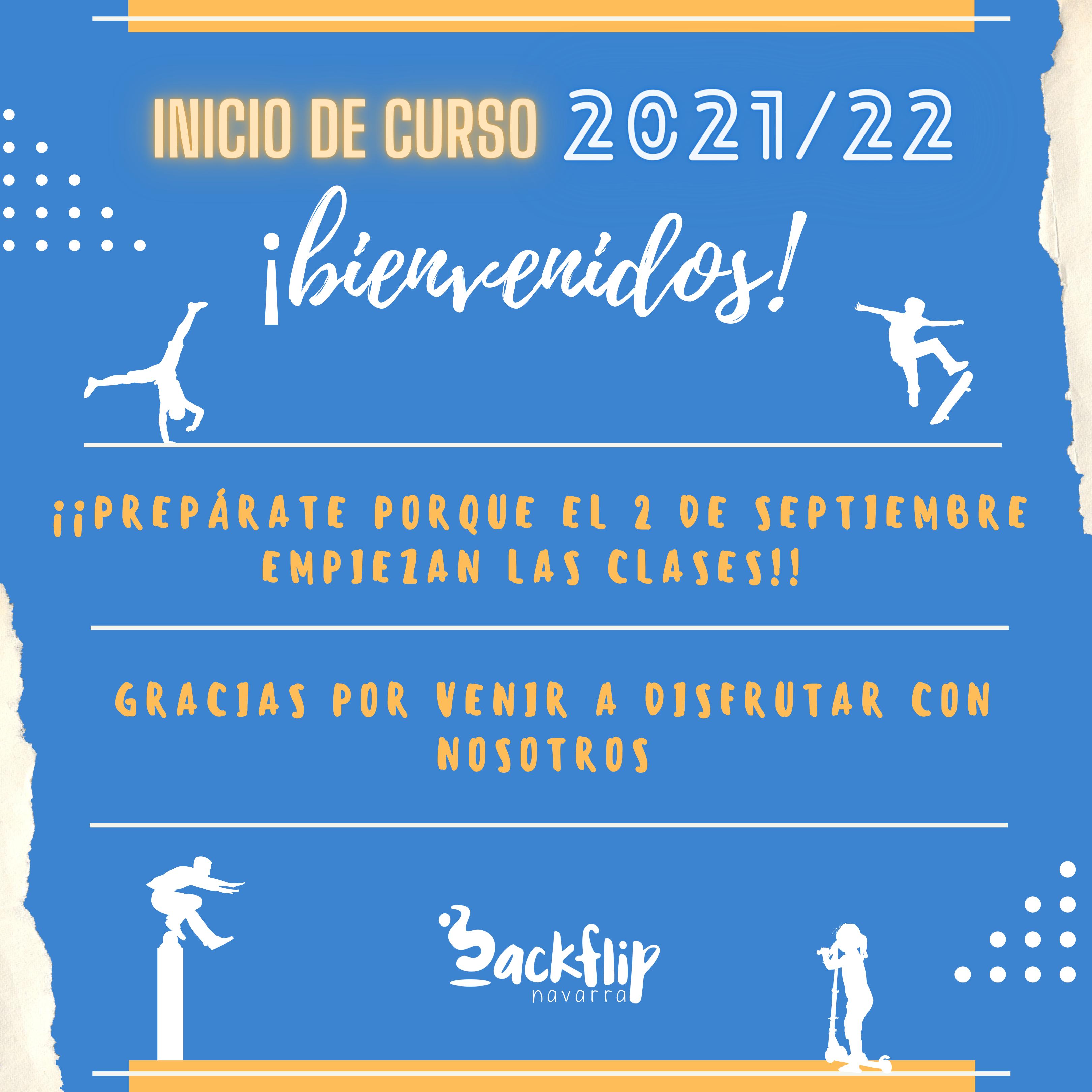 INICIO DE CURSO 2021/2022