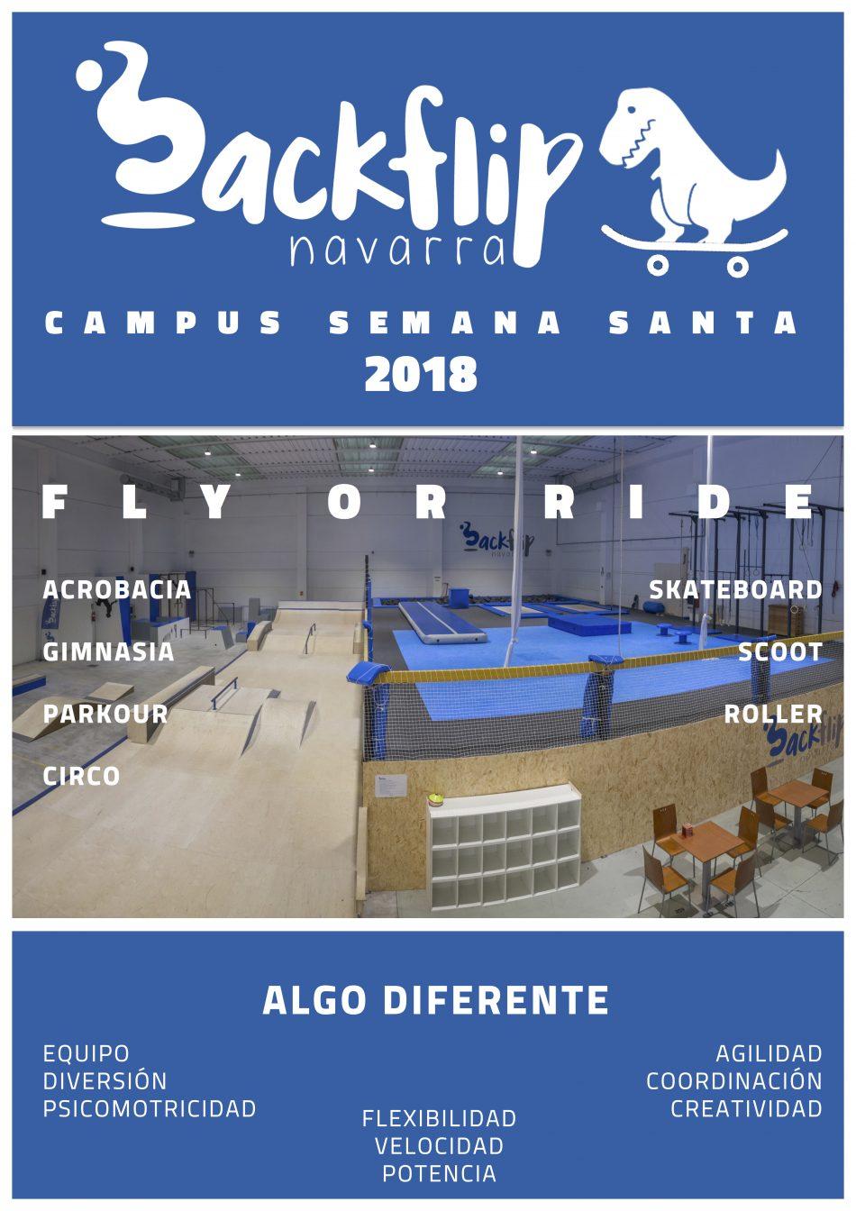CAMPUS SEMANA SANTA 2018 ¡INSCRIPCIONES ABIERTAS!